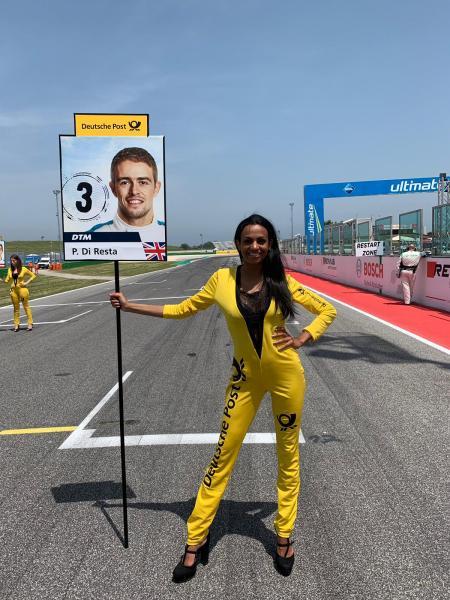 Campionato DTM, grid girls