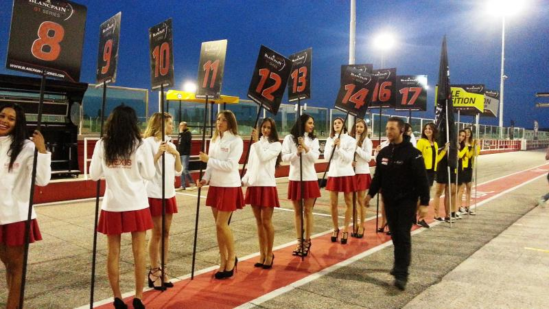 Gara Blancpain Misano Circuit, aprile 2017