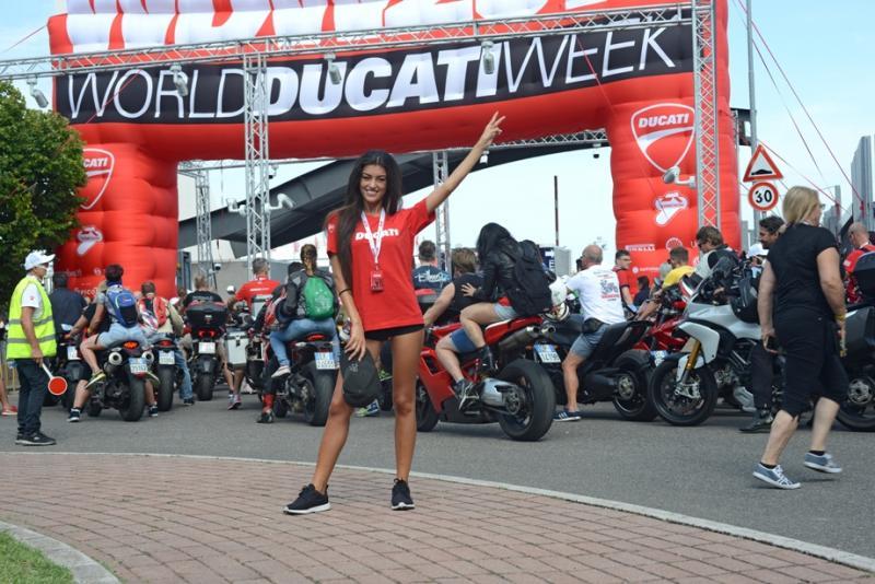 World Ducati Week Misano Circuit, luglio 2018