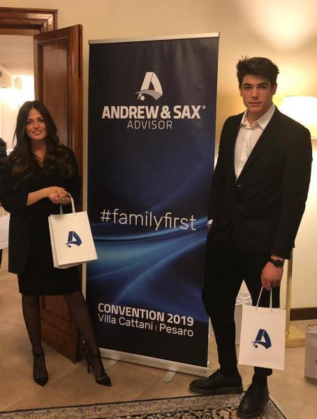 Andrew & Sax presso Villa Cattani Stuart a Pesaro, febbraio 2019