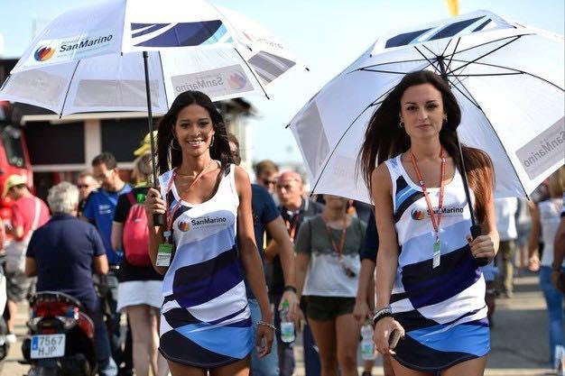 Hospitality San Marino, paddock girls